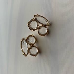 Kate Spade Clear Statement Studs